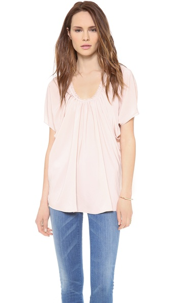 Ramy Brook Morgan Short Sleeve Blouse