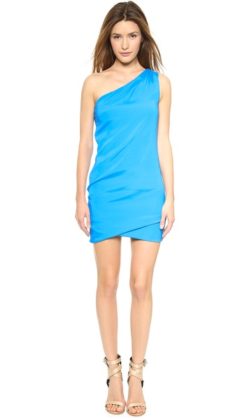 Ramy Brook Jasmine One Shoulder Dress