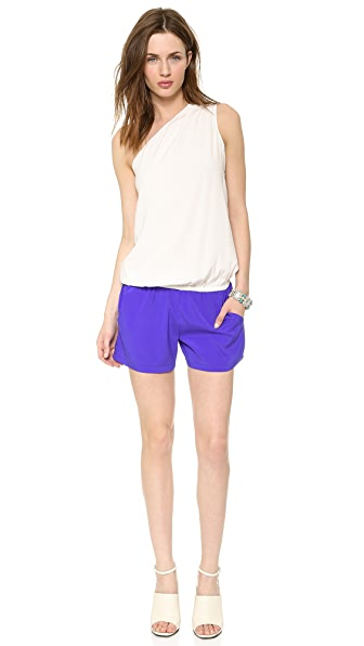 Ramy Brook Lulu Colorblock Romper