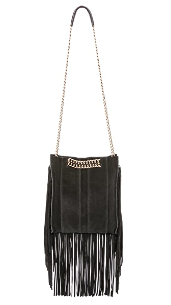 Ramy Brook Stevie Fringe Messenger Bag