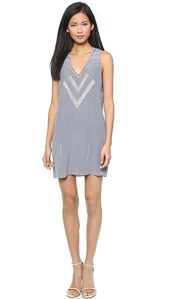 Kupi Ramy Brook haljinu online i raspordaja za kupiti Ramy Brook Ginger Dress Slate/Antique Silver online