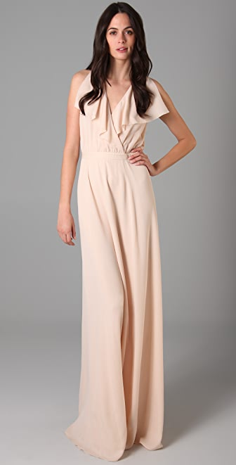 Raoul Wrap Over Long Dress