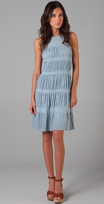 Raoul Sleeveless Tiered Dress