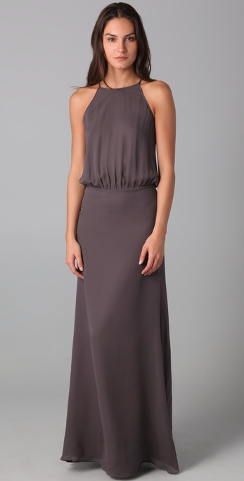 Raoul Slit Back Gown