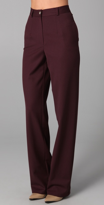 Raoul High Waisted Wide Leg Pants