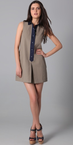Raoul Sleeveless Mod Dress