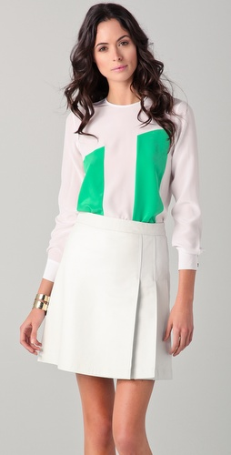 Raoul Paneled Blouse