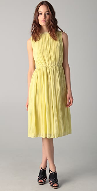 Raoul Icon Chiffon Midi Dress