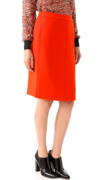 Raoul Double Zip Back Skirt