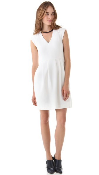 Raoul Lara Cap Sleeve Dress
