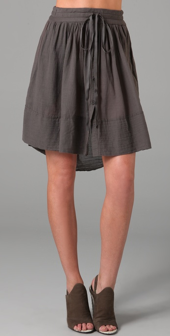 Raquel Allegra Drawstring Skirt