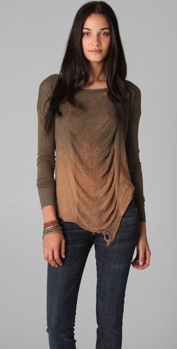 Raquel Allegra Basic Long Sleeve Tee