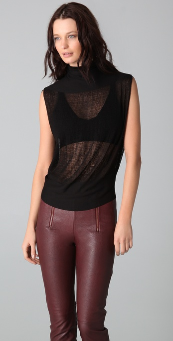Raquel Allegra Horizontal Turtleneck