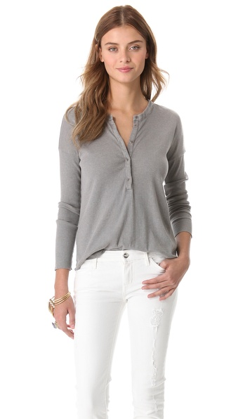 Raquel Allegra Ribbed Henley