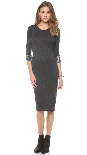 Raquel Allegra Long Sleeve Layering Dress