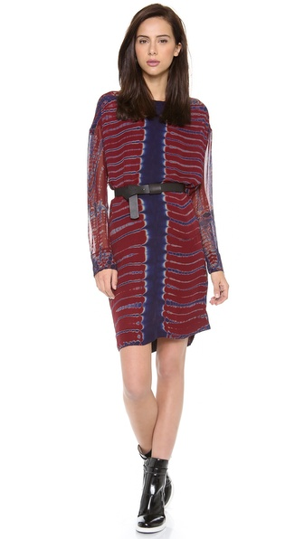 Raquel Allegra Silk Pullover Dress