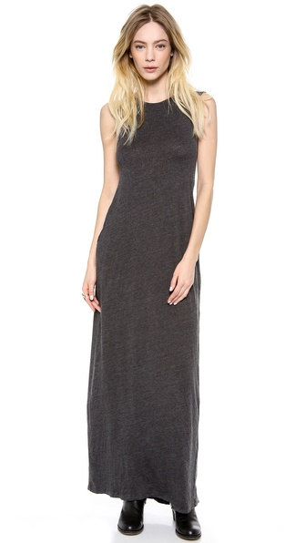 Raquel Allegra Sleeveless Maxi Caftan Dress
