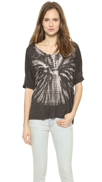 Raquel Allegra Short Sleeve Raglan Top