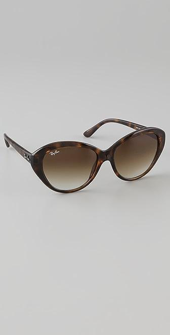 Ray-Ban Large Cat Eye Sunglasses