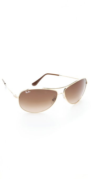 Ray-Ban Wrap Aviator Sunglasses