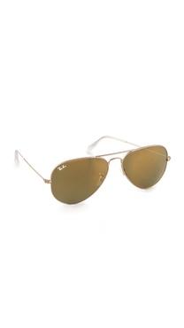 Ray-Ban Mirrored Original Aviator Sunglasses
