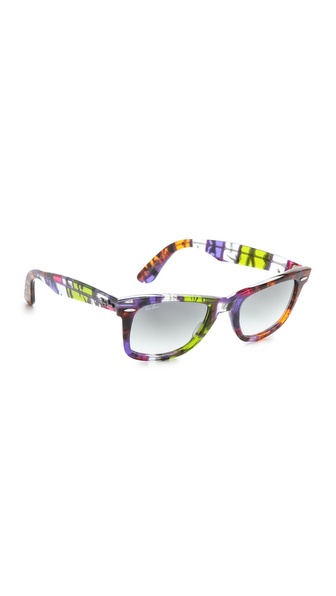 Ray-Ban Printed Wayfarer Sunglasses