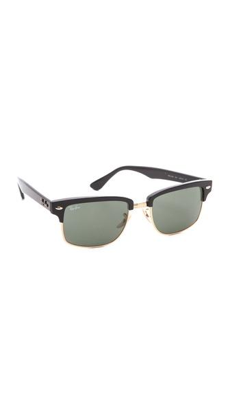 Ray-Ban Glossy Clubmaster Sunglasses