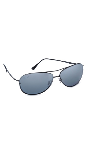 Ray-Ban Lightweight Aviator Polarized Sunglasses