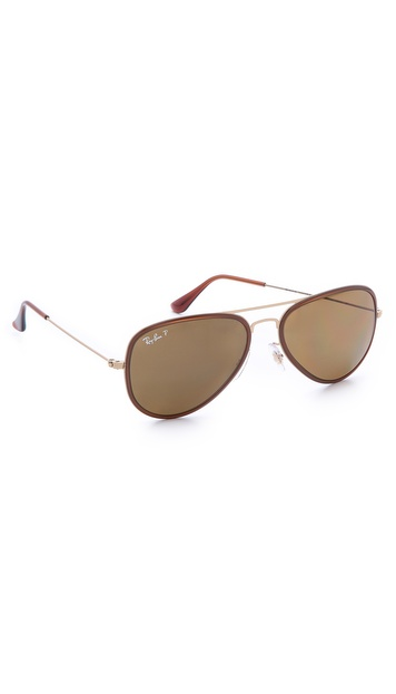 Ray-Ban Polarized Aviator Sunglasses