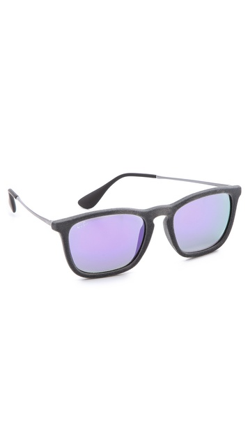 Ray-Ban Velvet Mirrored Sunglasses
