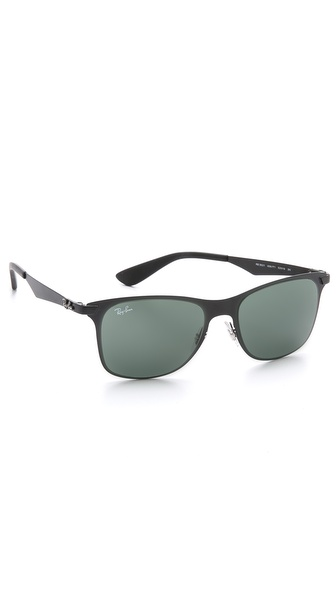 Ray-Ban Flat Metal Wayfarer Sunglasses