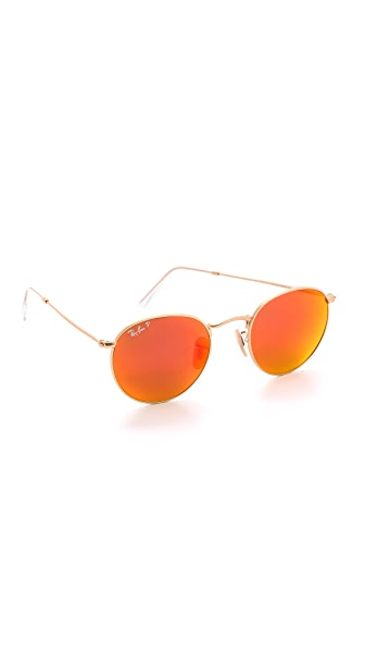Ray-Ban Mirrrored Polarized Icons Sunglasses