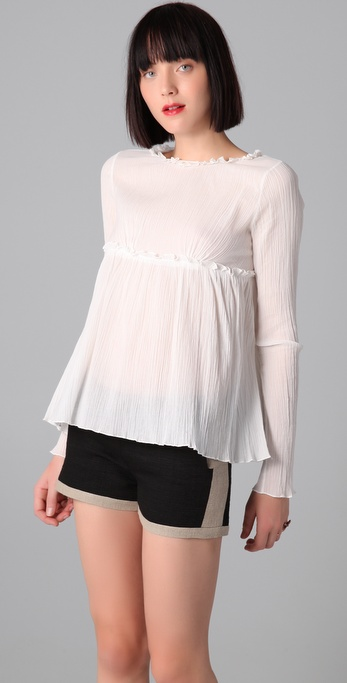 Richard Chai Love Ruched Top