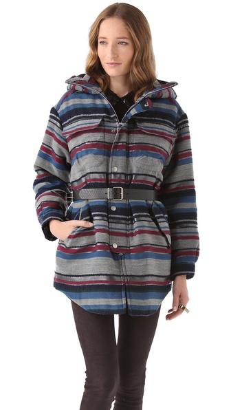 Richard Chai Love Padded Hooded Parka