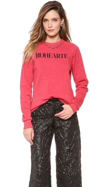 Rodarte Rohearte Sweatshirt