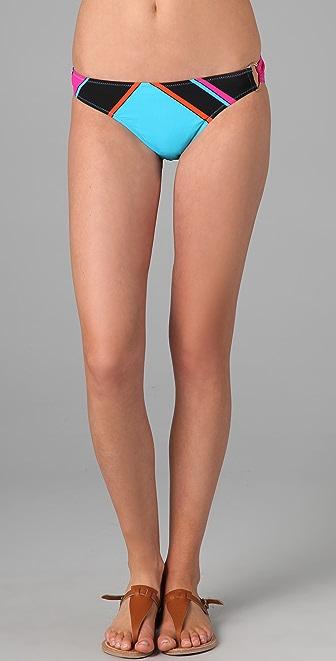 Red Carter Mark Rothko Bikini Bottoms