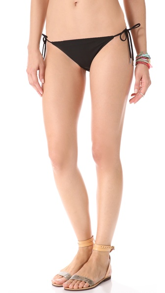 Red Carter Layer Cake Bikini Bottoms