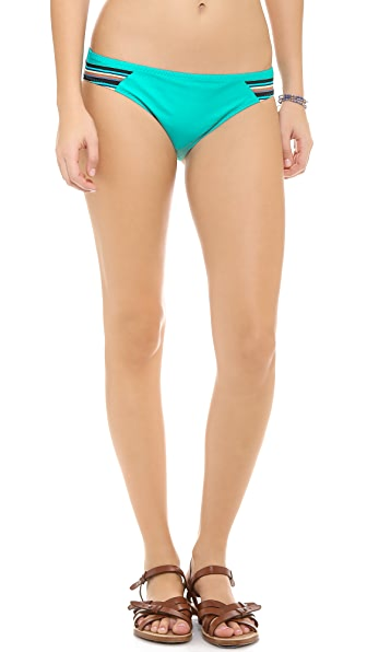 Red Carter Hipster Bikini Bottoms