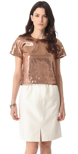 Shop RDM by Rue du Mail Copper Top and RDM by Rue du Mail online - Apparel,Womens,Tops,Blouse, online Store