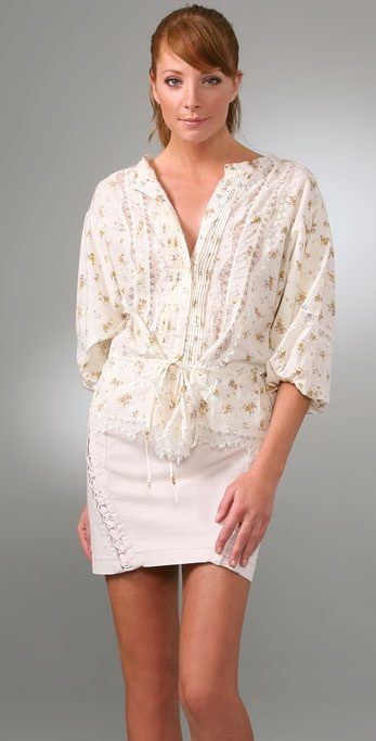 Rebecca Taylor No Basic Button Down
