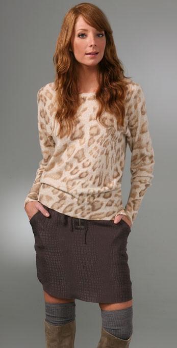 Rebecca Taylor Puma Pullover Sweater