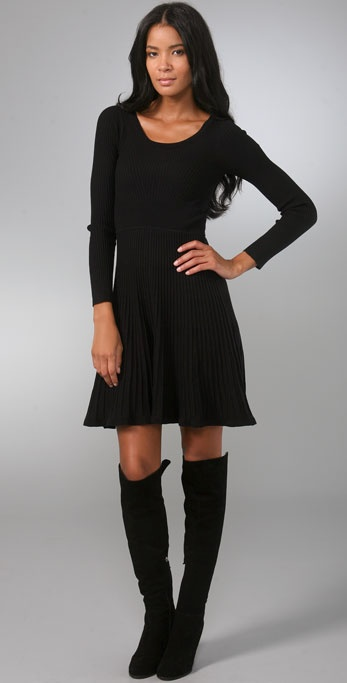 Rebecca Taylor Ballet Knit Dress