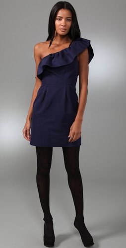 Rebecca Taylor Asymmetrical Party Dress