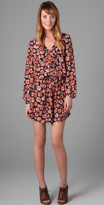 Rebecca Taylor Pom Pom Tunic Dress