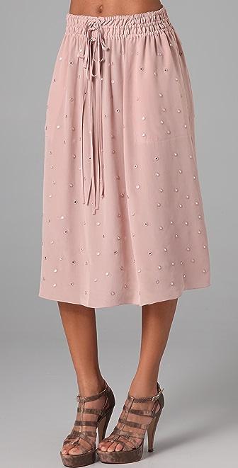 Rebecca Taylor Mirrored Skirt