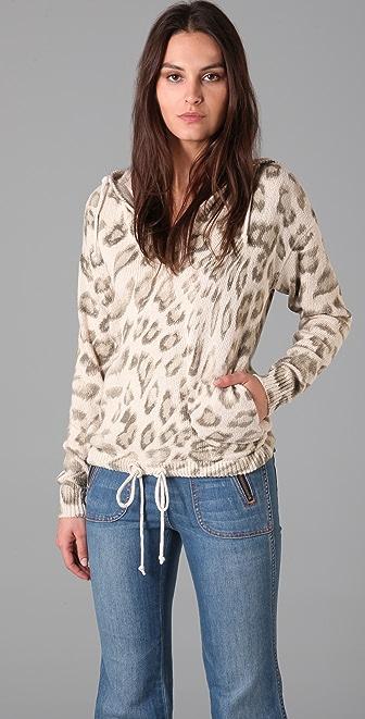 Rebecca Taylor Leopard Hoodie