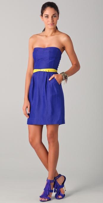 Rebecca Taylor Stunning Strapless Dress