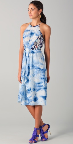 Rebecca Taylor Silk Midi Dress