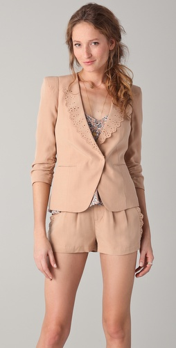 Rebecca Taylor Knock Me Out Blazer