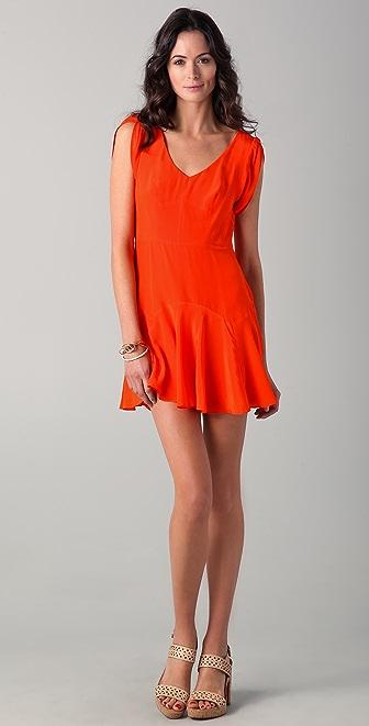 Rebecca Taylor Fit & Tied Dress